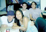 my first batch of summer undergrads